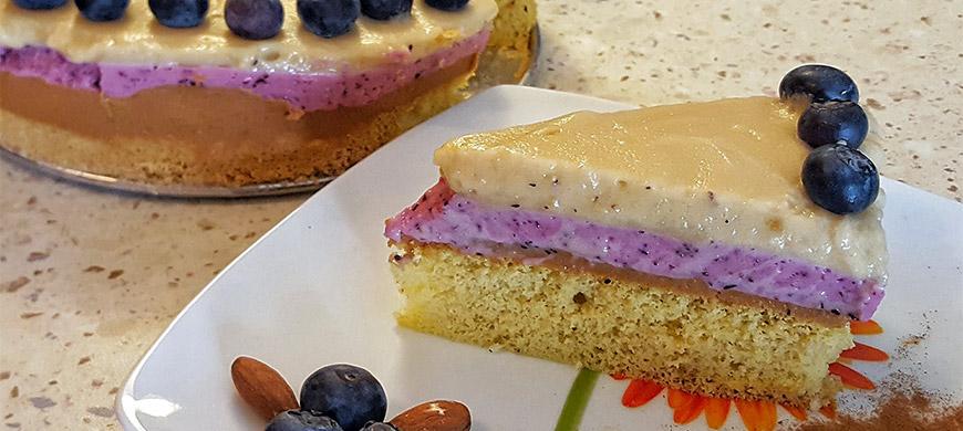 Przepis na fit ciasto