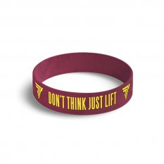 TREC WRISTBAND 029 DON'T THINK JUST LIFT