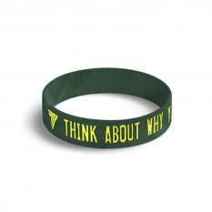 TREC WRISTBAND 040 THINK ABOUT WHY YOU STARTED