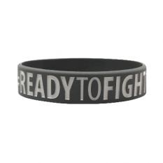 "Beltor Opaska Silikonowa ""Ready To Fight, Ready To Win"""