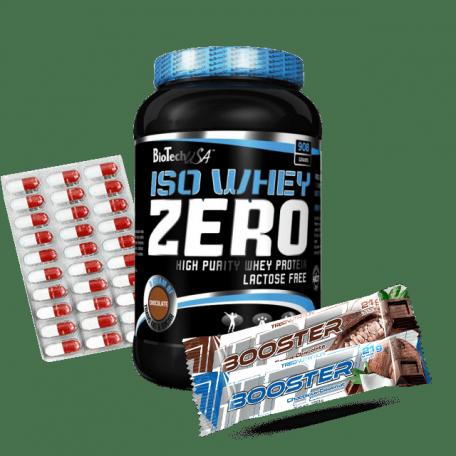 Biotech Iso Whey Zero 908 g + 2 Gratisy Do Wyboru