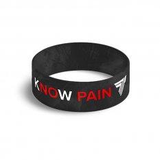 TREC WRISTBAND 026 KNOW PAIN KNOW GAIN