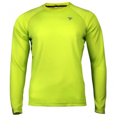 TW COOLTREC 018 BRIGHT GREEN LONG SLEEVE