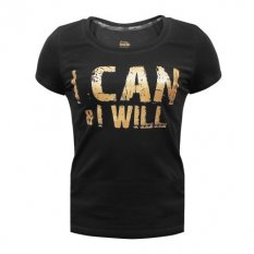 "Beltor T-shirt Damski Slim ""I CAN & I WILL"""