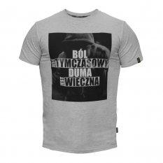 """Beltor T-Shirt Slim """"BÓL JEST TYMCZASOWY"""""""