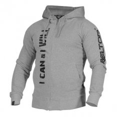 "Beltor Bluza ""I Can & I Will"" Zip Hoodie"
