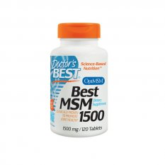 DOCTOR'S BEST MSM WITH OPTIMSM 1500 mg / 120 kap
