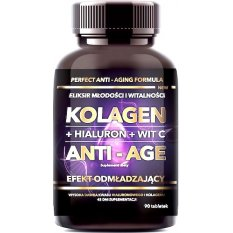 INTENSON KOLAGEN ANTI-AGE HIALURON + WIT C 90 tab. 45 g