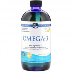 NORDIC NATURALS OMEGA 3 1560 mg LEMON 237 ml
