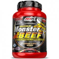AMIX ANABOLIC MONSTER BEEF 90% PROTEIN 1 kg