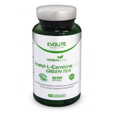 EVOLITE ACETYL-L-CARNITINE HCL + GREEN TEA 100 kap