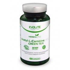 EVOLITE ACETYL-L-CARNITINE HCL + GREEN TEA 100 kap