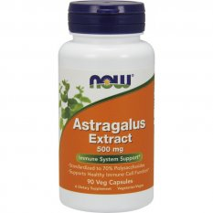 Now Foods Astragalus Extract 500mg 90 vcaps