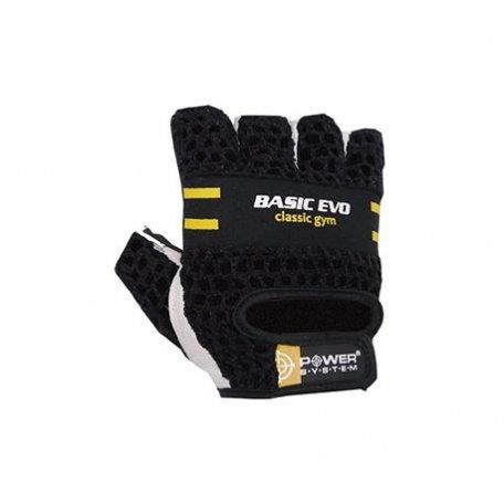 Power System Rękawiczki Basic Evo Yellow 2100