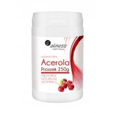 Aliness Acerola Proszek 250 g naturalna witamina C