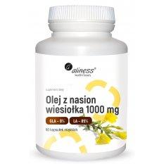 ALINESS OLEJ Z NASION WIESIOŁKA 1000 mg, 90 kaps