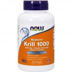 NOW NEPTUNE KRILL OIL 1000 mg 60 softgels