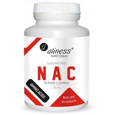 ALINESS NAC N-ACETYL L-CYSTEINA 500 mg 100 vcaps