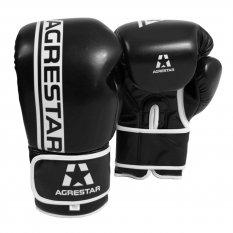 Agrestar Rękawice bokserskie COMBAT czarne