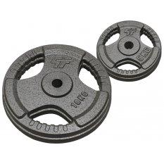PlatinumFitness Zestaw 30kg Obciążenie żeliwne hammertone 29mm