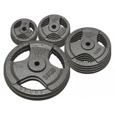 PlatinumFitness Zestaw 110kg Obciążenie żeliwne 29mm