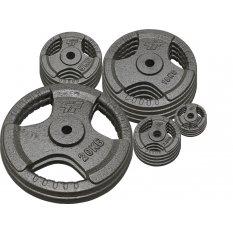 PlatinumFitness Zestaw 115kg Obciążenie żeliwne 29mm