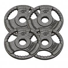 PlatinumFitness Zestaw 5kg Obciążenie żeliwne hammertone 29mm