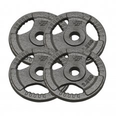 PlatinumFitness Zestaw 10kg Obciążenie żeliwne hammertone 29mm