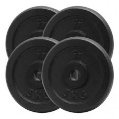 PlatinumFitness Zestaw 20kg Obciążenie żeliwne pełne 29mm