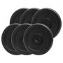 PlatinumFitness Zestaw 30kg Obciążenie żeliwne pełne 29mm