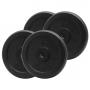 PlatinumFitness Zestaw 40kg Obciążenie żeliwne pełne 29mm
