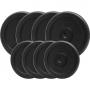 PlatinumFitness Zestaw 60kg Obciążenie żeliwne pełne 29mm
